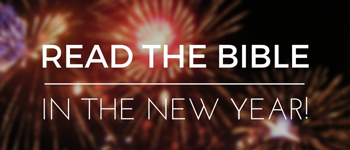 Read Through The Bible In 2017!