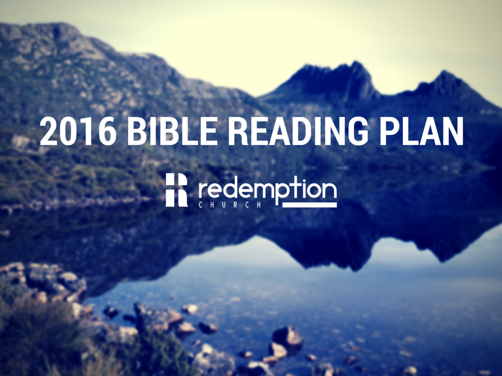 2016 Bible Reading Plan – Week 50