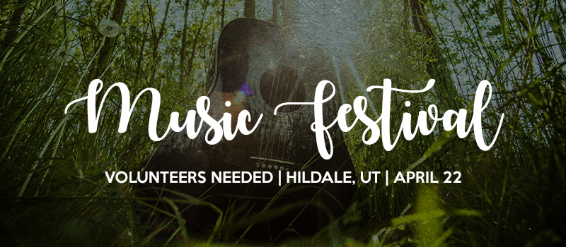 Music Festival Volunteering Needed in Colorado City
