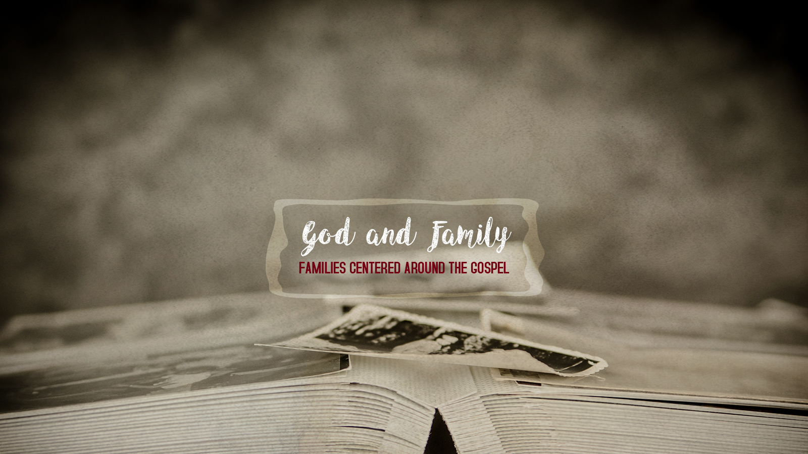 Sermon Series Preview: God And The Family