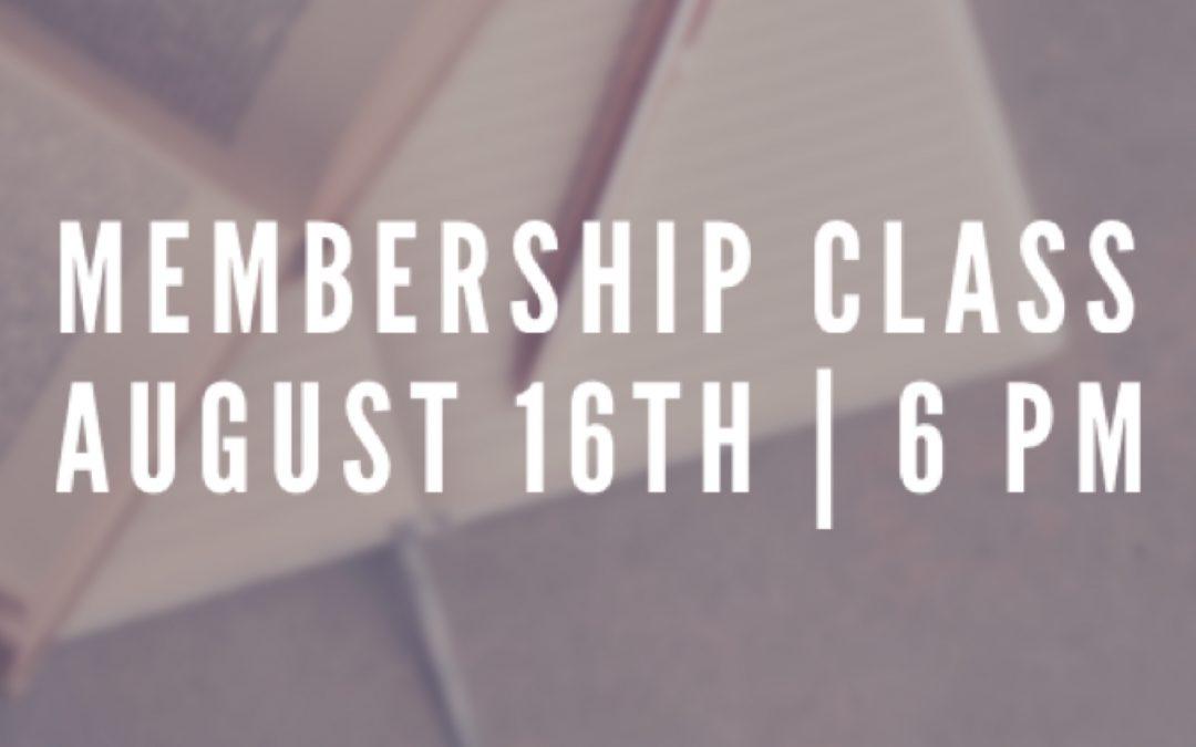 Membership Class Registration