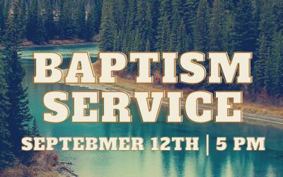 Baptisms And Church BBQ Fellowship